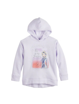 Disney's Frozen 2 Elsa Girls 4 12 High Low Hem Hoodie By Jumping Beans® by Disney's Frozen 2 Elsa Girls 4 12 High Low Hem Hoodie By Jumping Beans