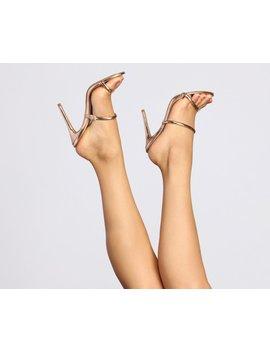 Flirtatious Feelings Stiletto Mules by Windsor