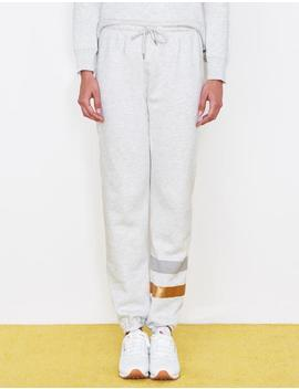 Stripes Boyfriend Sweatpants by Sundry Clothing