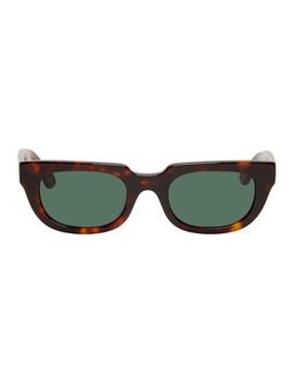 Tortoiseshell Root Sunglasses by Han Kjobenhavn