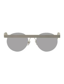 Silver Stable Matt Sunglasses by Han Kjobenhavn