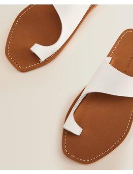 Leather Sandals  Women   Footwear   Loungewear   Bedroom by Zara Home