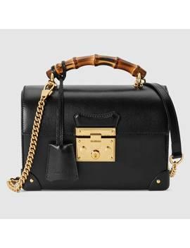 Padlock Small Bamboo Shoulder Bag by Gucci