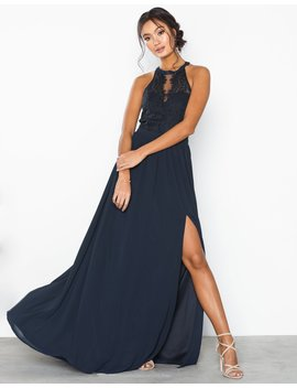 Sportscut Lace Insert Gown by Nly Eve