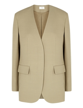 Murray Stone Wool Blend Jacket by The Row