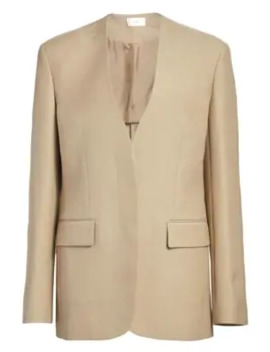Murray Wool & Silk Jacket by The Row