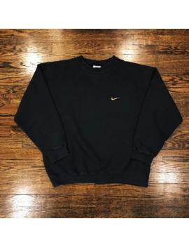 Vintage 90's Nike Essential Crewneck by Nike  ×