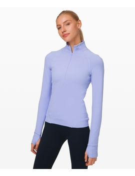 Outrun The Elements 1/2 Zip New Rulu™ by Lululemon