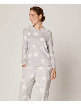 Jacquard Star Sweatshirt by Oysho