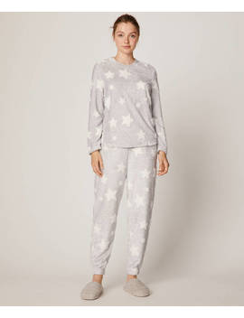 Jacquard Star Trousers by Oysho