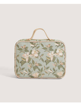 Floral Wash Case With Removable Wash Bags by Oysho