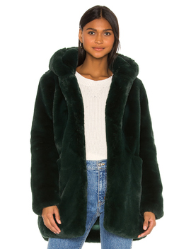 Marie Faux Fur Coat by Apparis