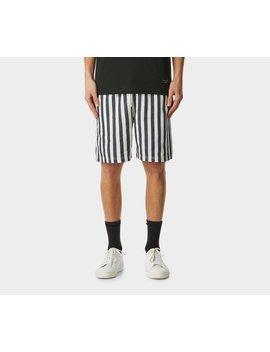 Bold Stripe Frankie Short   Navy/White by I Love Ugly