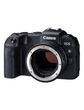 Canon Eos Rp Full Frame Mirrorless Camera With Ef Eosr Lens Mount Adaptor by Canon
