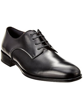 Salvatore Ferragamo Daniel Leather Derby by Salvatore Ferragamo