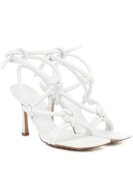 Sandales En Cuir by Bottega Veneta