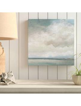 Cloudscape Vii   Picture Frame Painting Print On Canvas by Highland Dunes
