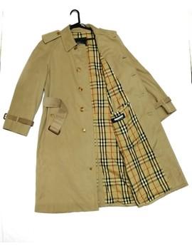 💥Burberrys' Nova Check Plaid Tartan Trenchcoat by Burberry  ×