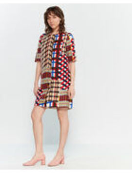 Printed Shift Dress by Marni