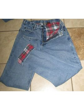Womens Guide Gear Lined Denim Jeans Size 6 Very Good Flannel by Guide Gear