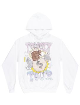 Asap Mob Too Cozy Tour Hoodie Sweatshirt Fleece Hip Hop Music Pullover White by Asap Mob