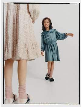 Satin Effect Jewel Dress by Zara