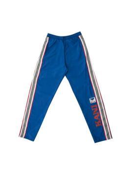 Karl Kani Endurance Nylon Jogger Track Pants Athletic Fit Royal Blue Mens by Karl Kani