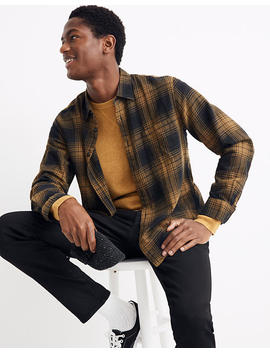 Brushed Twill Shirt In Braybrook Plaid by Madewell