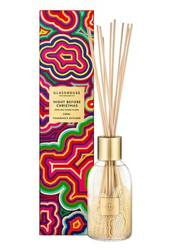 Night Before Christmas 250ml Fragrance Diffuser by Glasshouse Fragrances