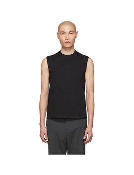 Black Rod T Shirt by Rick Owens