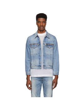 Blue Denim D Roy Jacket by Diesel