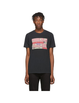 Black Rebirth Roy T Shirt by Nudie Jeans