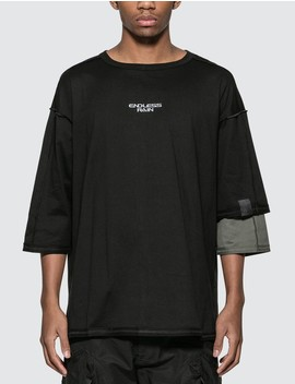 Endless Rain Asymmetric T Shirt by              Guerrilla Group