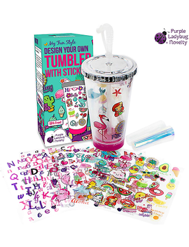 Create Your Own Personalized Tumbler For Girls With Tumbler Stickers! Insulated by Ebay Seller