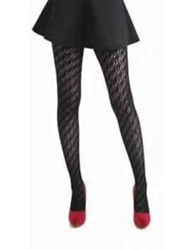 Premium Pelerine Opaque Tights Black by Ebay Seller