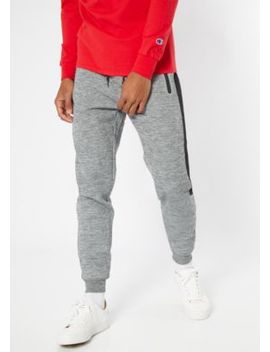 Gray Space Dye Mesh Side Tech Joggers by Rue21