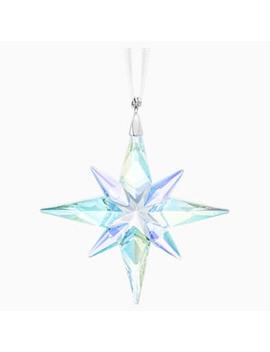 Star Ornament, Crystal Ab, Small by Swarovski