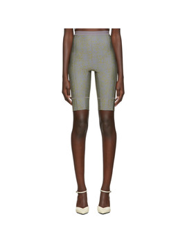 Ssense Exclusive Grey Vyper Shorts by Charlotte Knowles