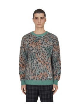 Leopard Mohair Sweater (Type 1) by Wacko Maria