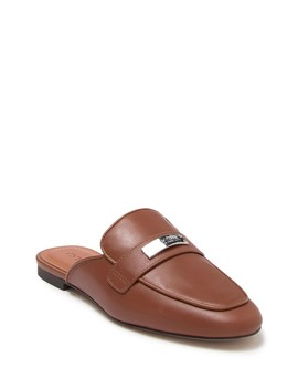 Shea Leather Mule by Coach