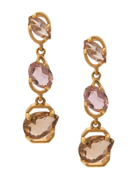 Jewel Drop Earrings by Oscar De La Renta