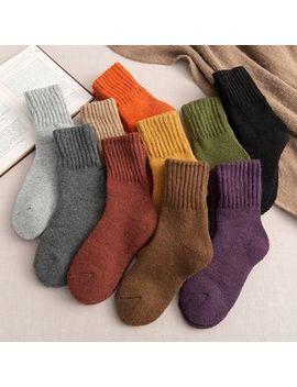 Lychee   Set Of 3: Plain Wool Socks by Lychee