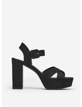 Black 'boppity' Heeled Sandals by Dorothy Perkins