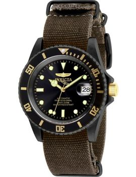 Invicta 27629 Pro Diver Men's 42mm Automatic Gunmetal Steel Black Dial Watch by Invicta