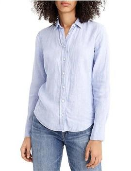 Perfect Shirt (Irish Linen) by Jcrew