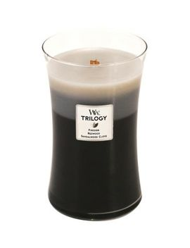 Wood Wick Trilogy Warm Woods Large Candle by Woodwick