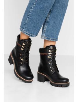Phoebe Brooklyn   Platform Ankle Boots by Panama Jack