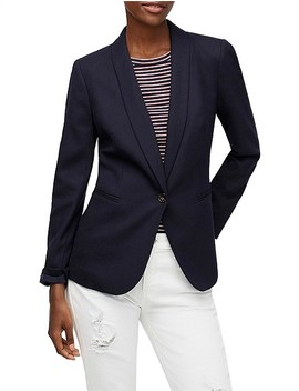 Parke Blazer In Wool Flannel by Jcrew
