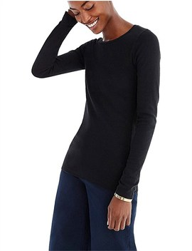 Perfect Fit Long Sleeve T Shirt by Jcrew