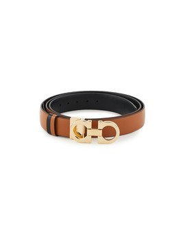 25mm Gancio Reversible Belt by Salvatore Ferragamo